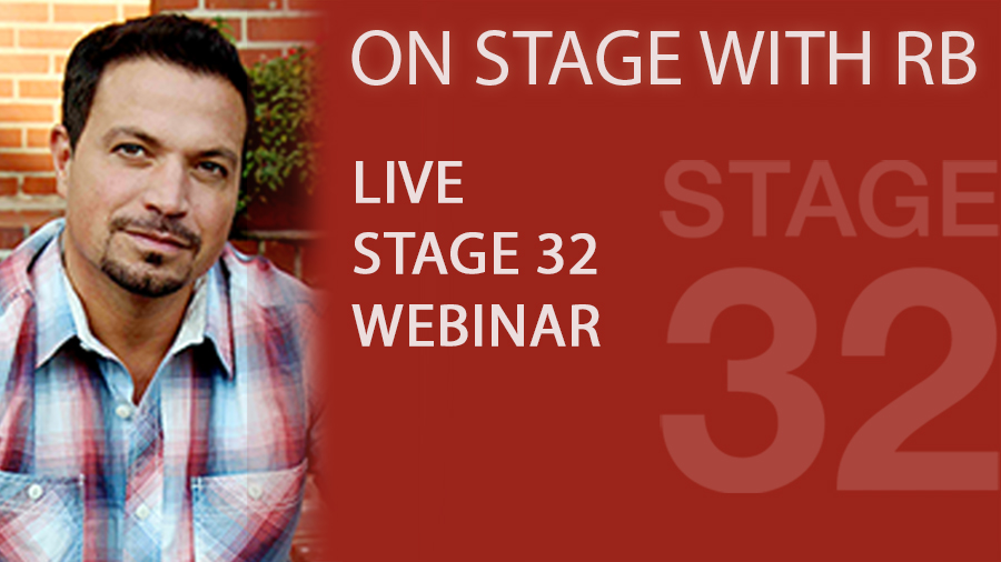 On Stage With RB May 2014  – Now Available Free On Demand