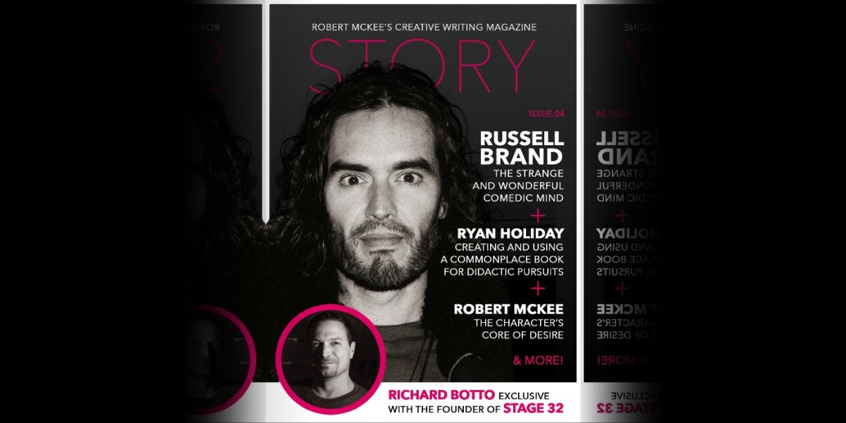 Stage 32 Founder & CEO, RB, on the Cover of Robert McKee's STORY Magazine