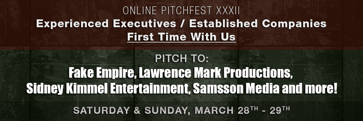 Online PitchFest XXXII- For All Filmmakers