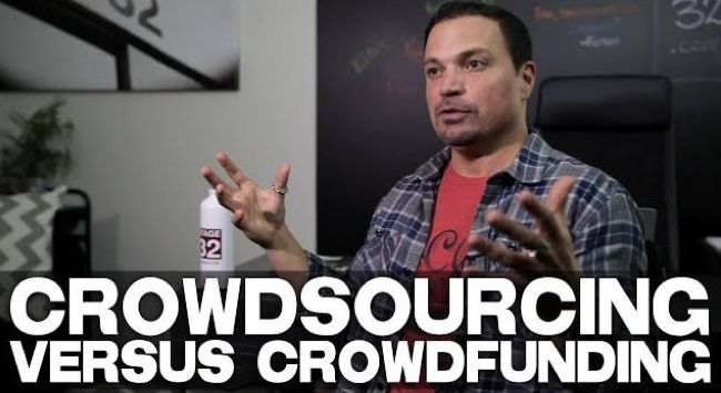 Crowdsourcing vs. Crowdfunding