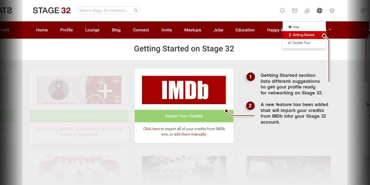 Import Your IMDB Credits to Your Stage 32 Profile