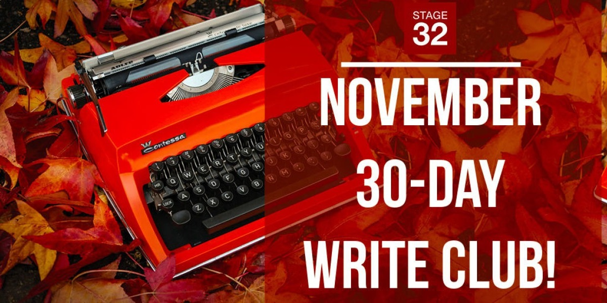 Stage 32's November 30-Day Write Club!