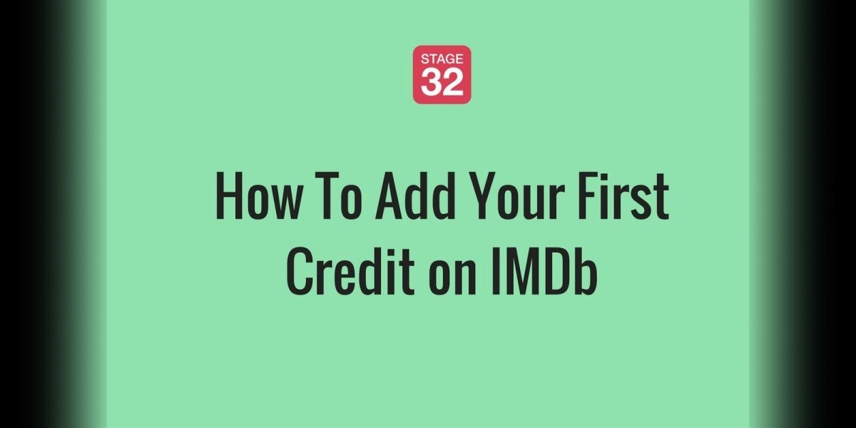 How To Add Your First Credit on IMDb