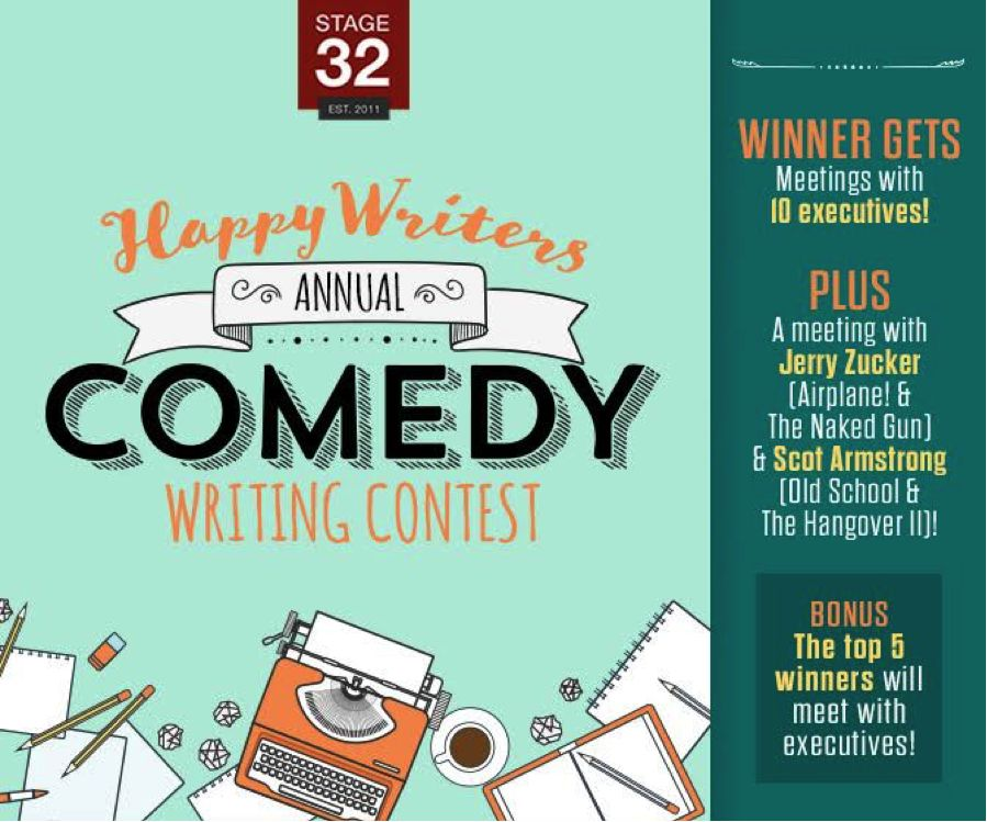 Annual Stage 32 Happy Writers Comedy Contest