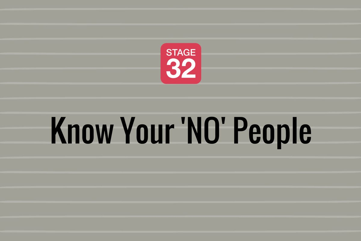 Know Your 'NO' People