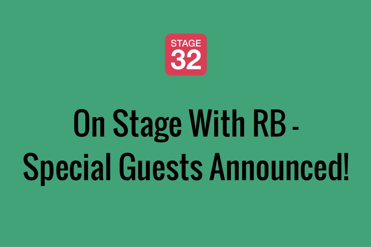 On Stage With RB (July 2016) - Special Guests Announced!
