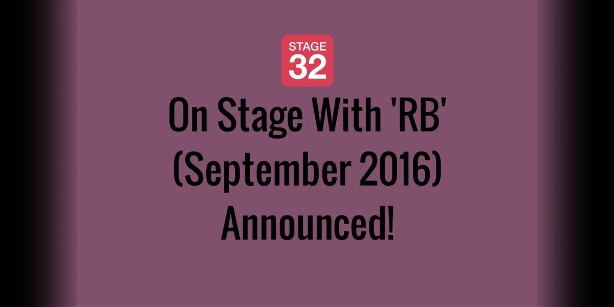 On Stage With 'RB' (September 2016) Announced!
