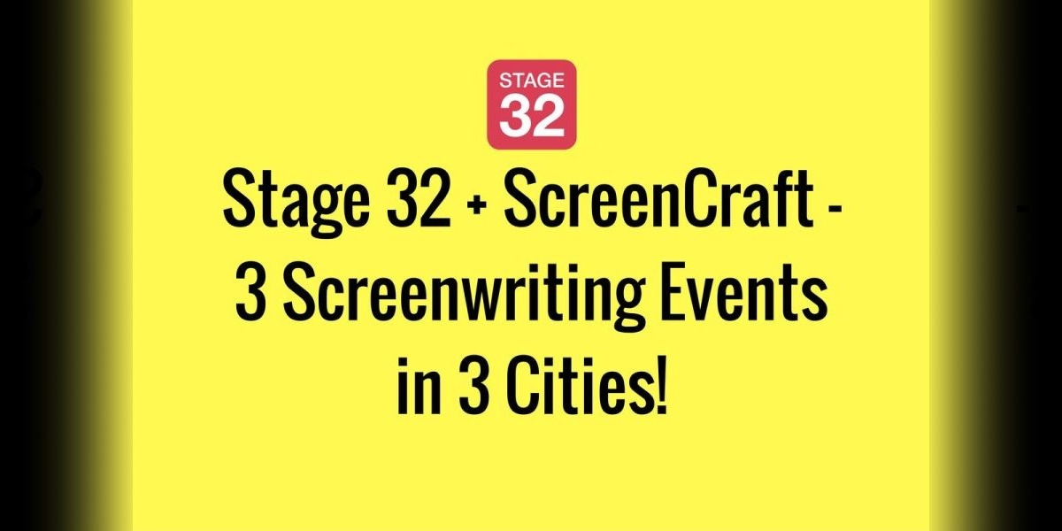 Stage 32 + ScreenCraft - 3 Screenwriting Events in 3 Cities!