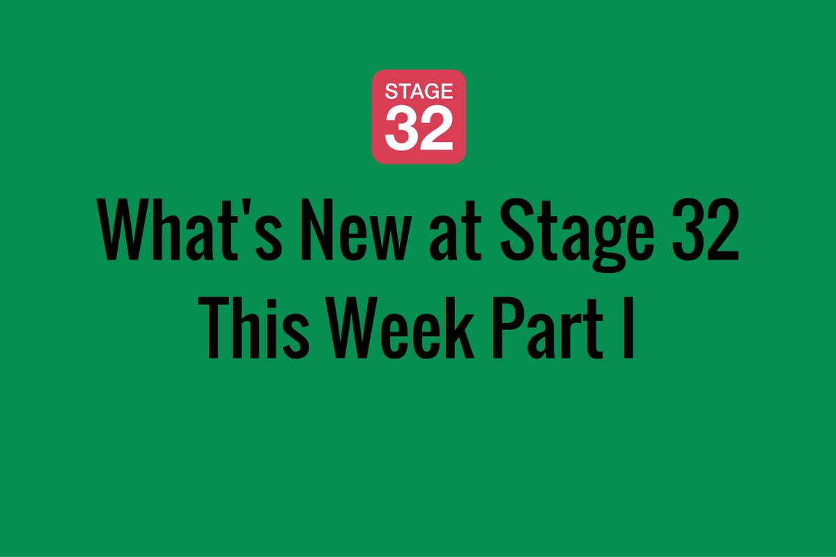 What's New at Stage 32 This Week Part I