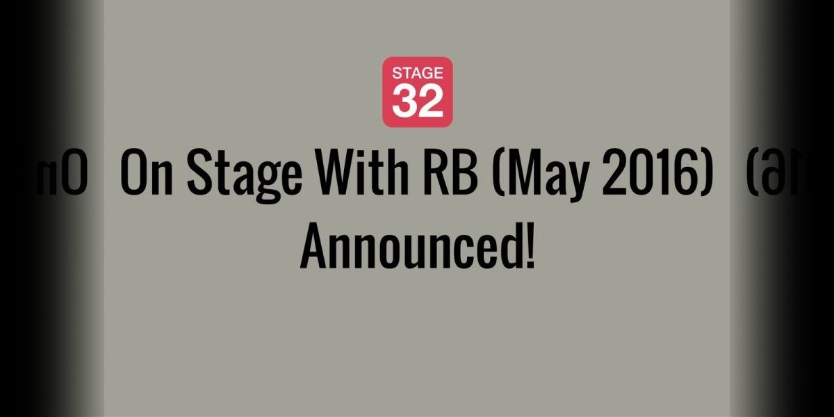 On Stage With RB (May 2016) Announced!