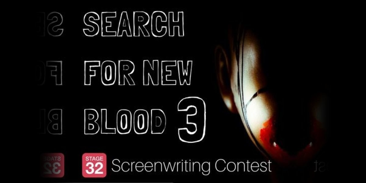 The 3rd Annual Search For New Blood Screenwriting Contest Begins Now