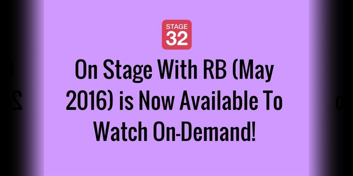 On Stage With RB (May 2016) is Now Available To Watch On-Demand!