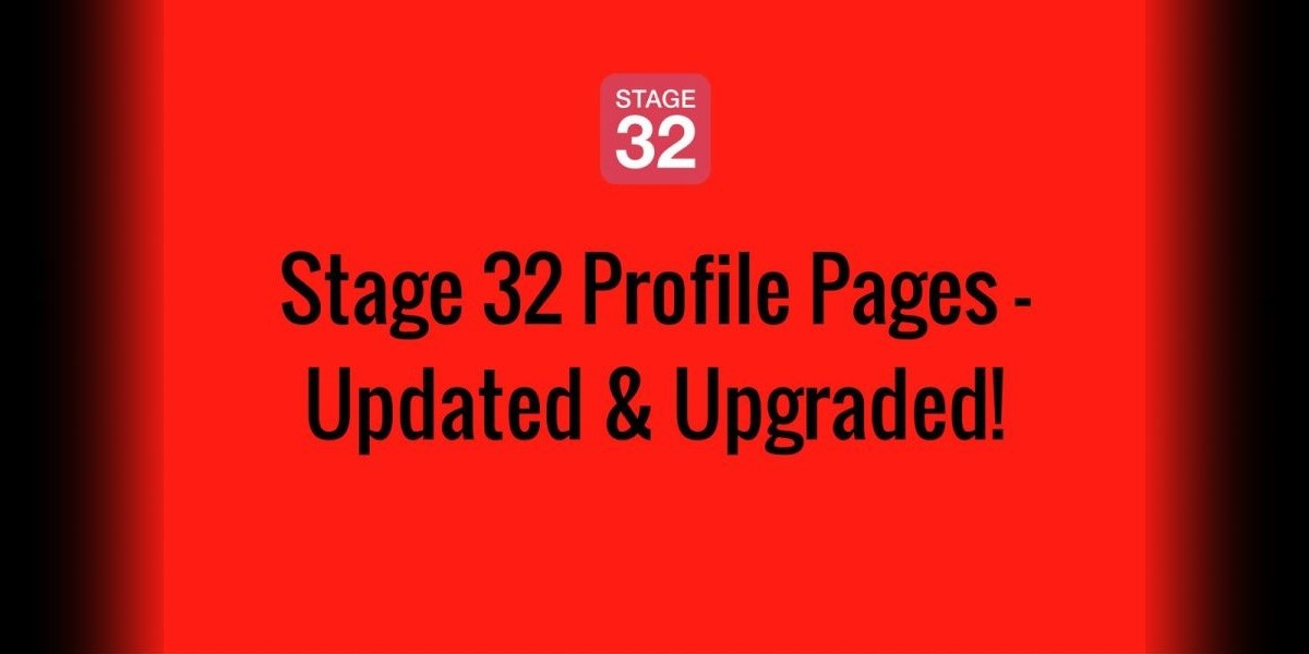 Stage 32 Profile Pages - Updated & Upgraded!