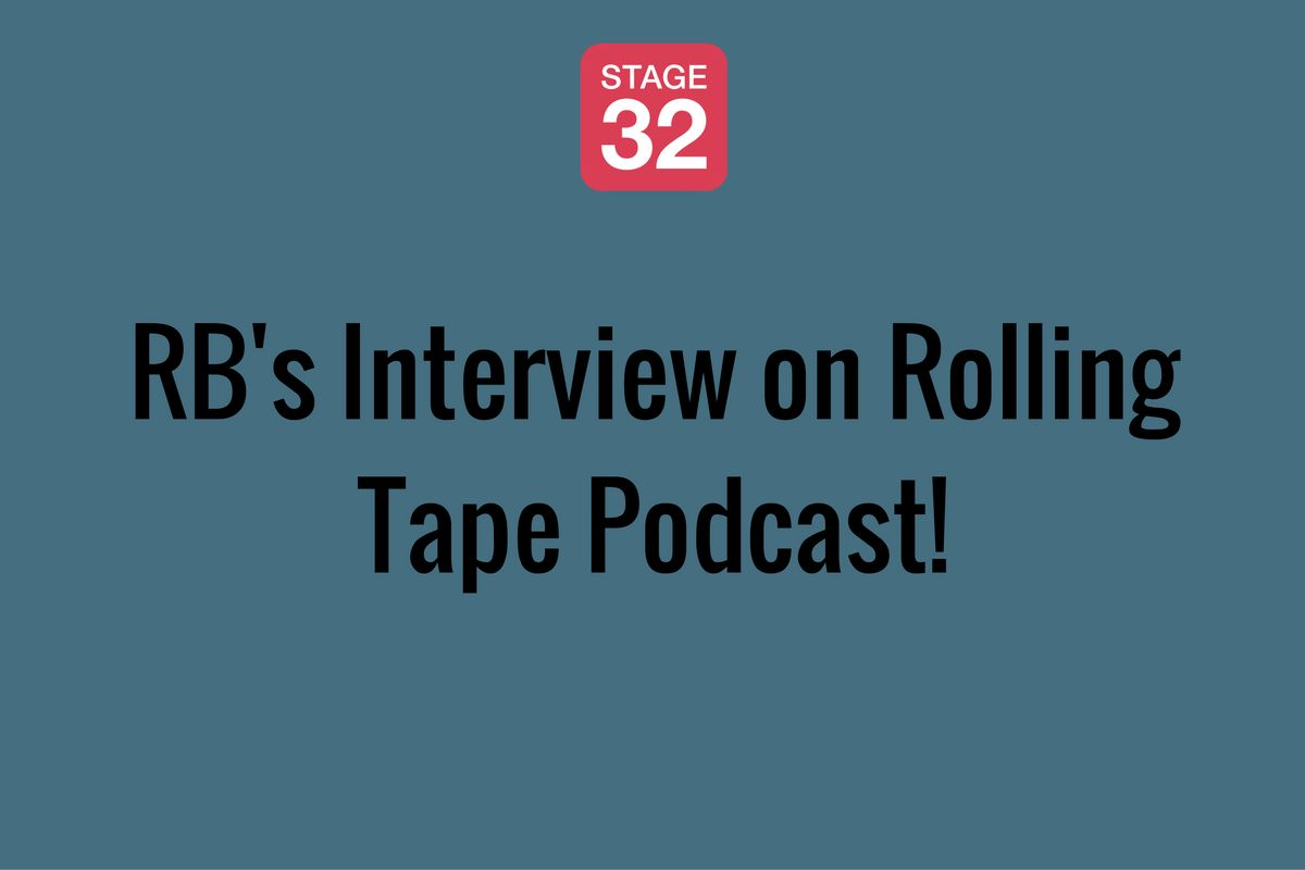 RB's Interview on Rolling Tape Podcast!