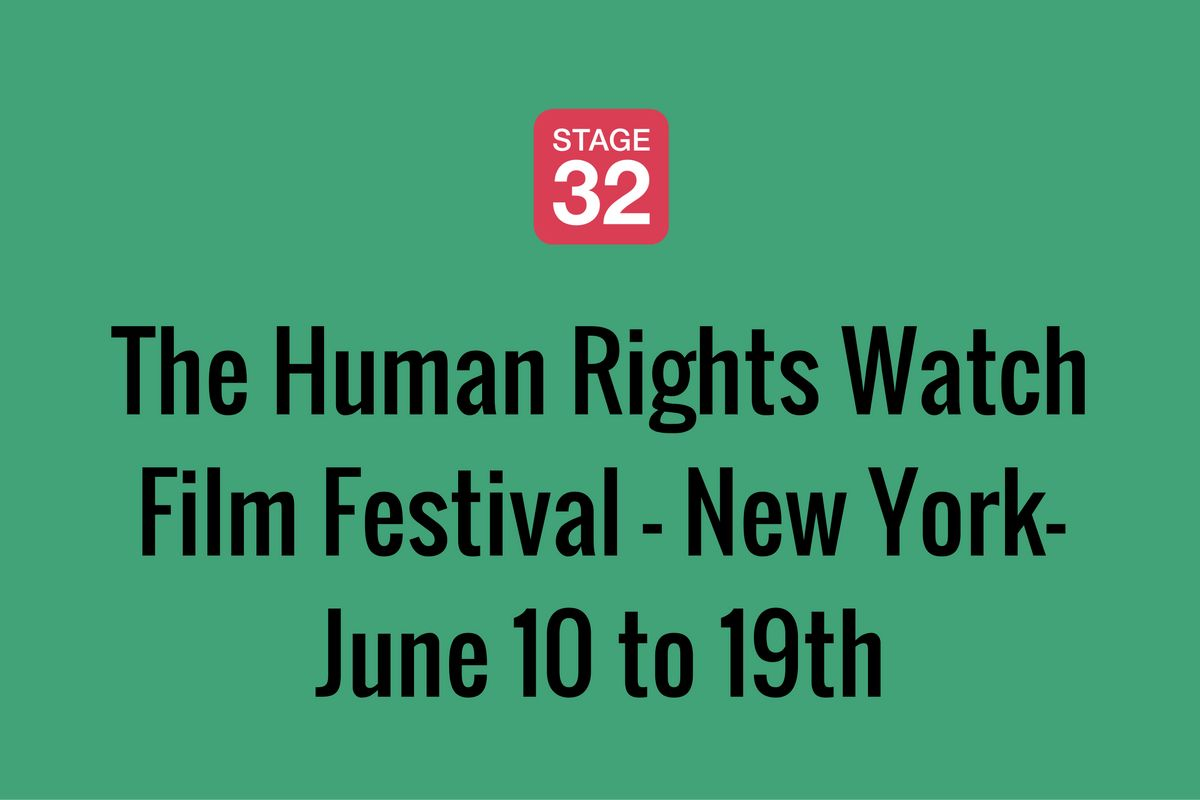 The Human Rights Watch Film Festival - New York-June 10 to 19th
