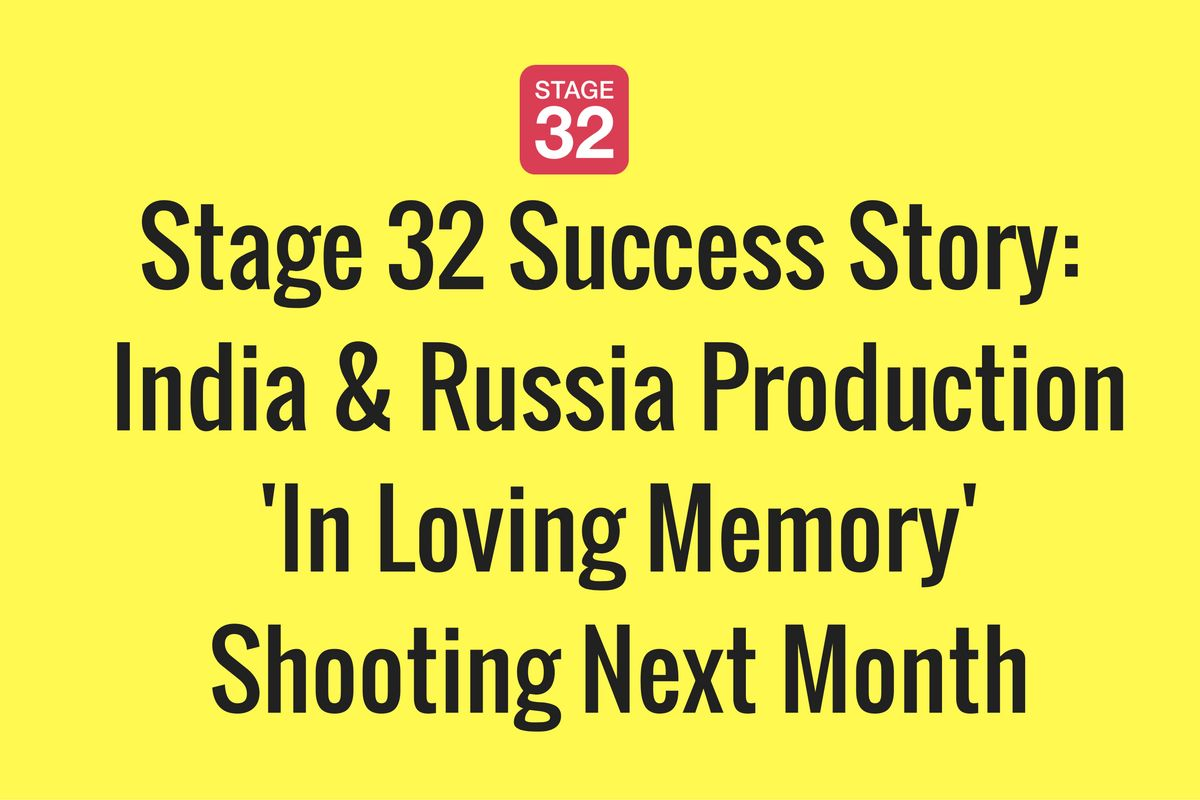 Stage 32 Success Story: India & Russia Production Shooting Next Month