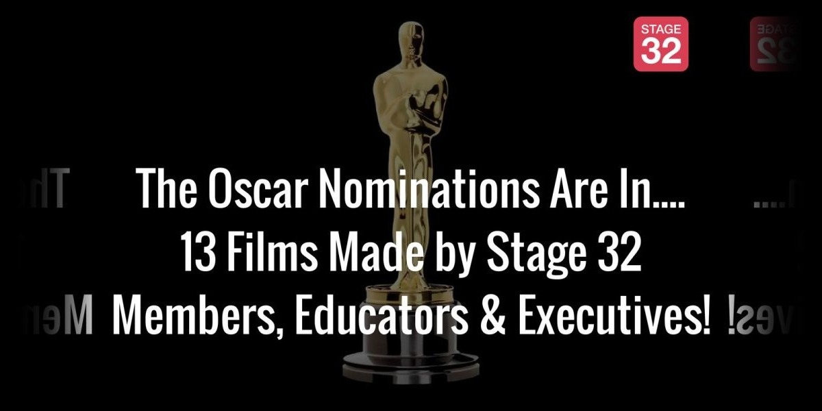 The Oscar Nominations Are In....