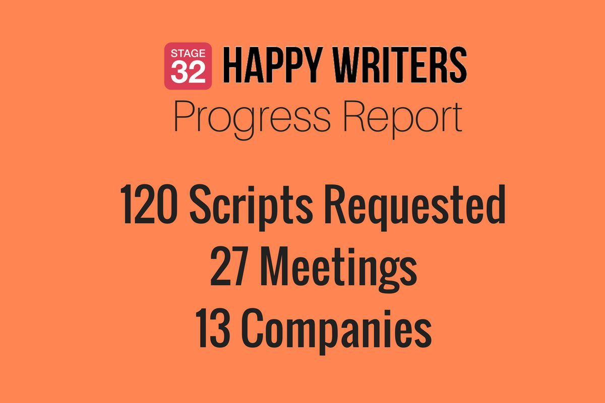 Stage 32 Happy Writers Spring Progress Report