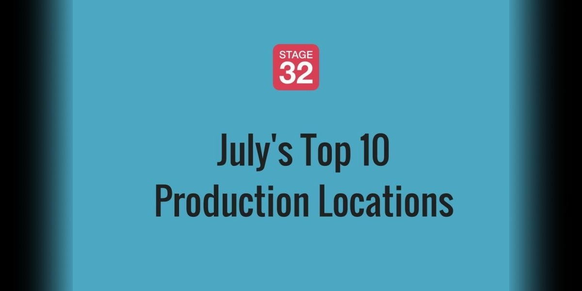 July's Top 10 Production Locations