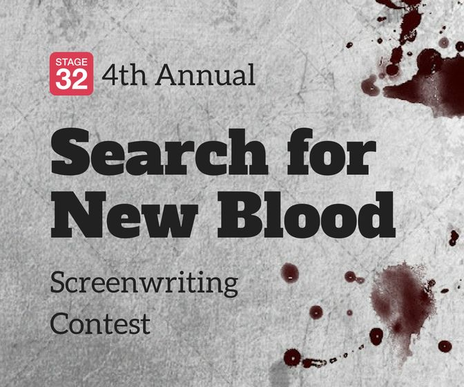 4th Annual Search For New Blood Screenwriting Contest