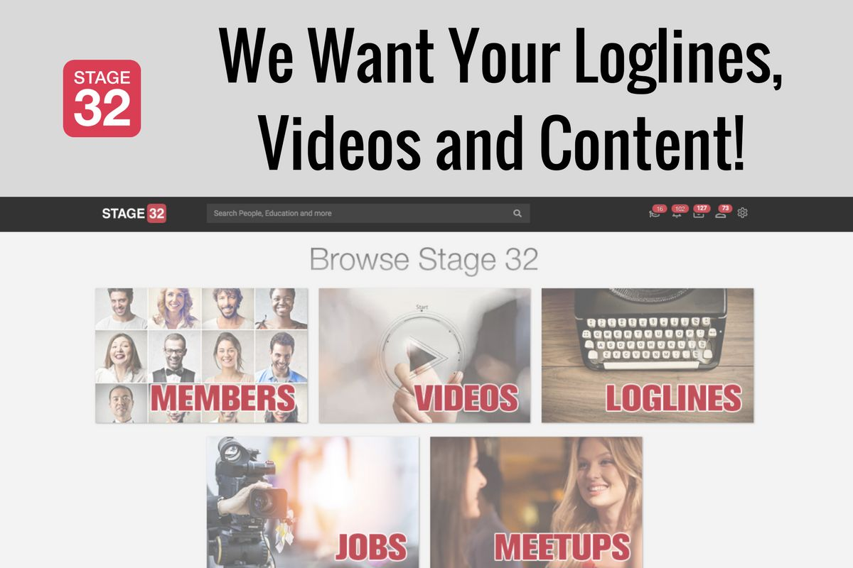 We Want Your Loglines, Videos and Content!