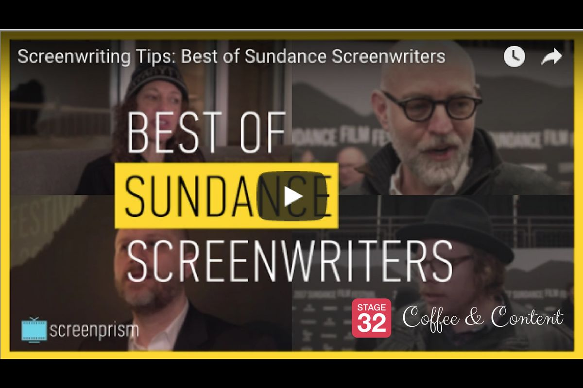 Coffee & Content - Tips from Sundance Screenwriters & Depth Through Subtext