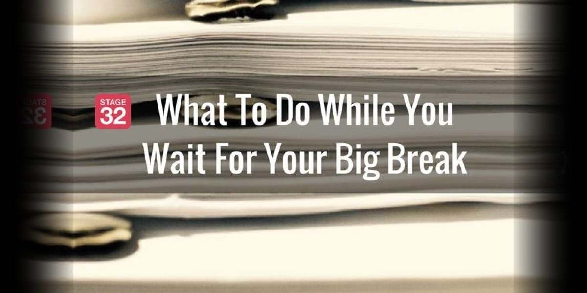Part 2 : What To Do While You Wait For Your Big Break