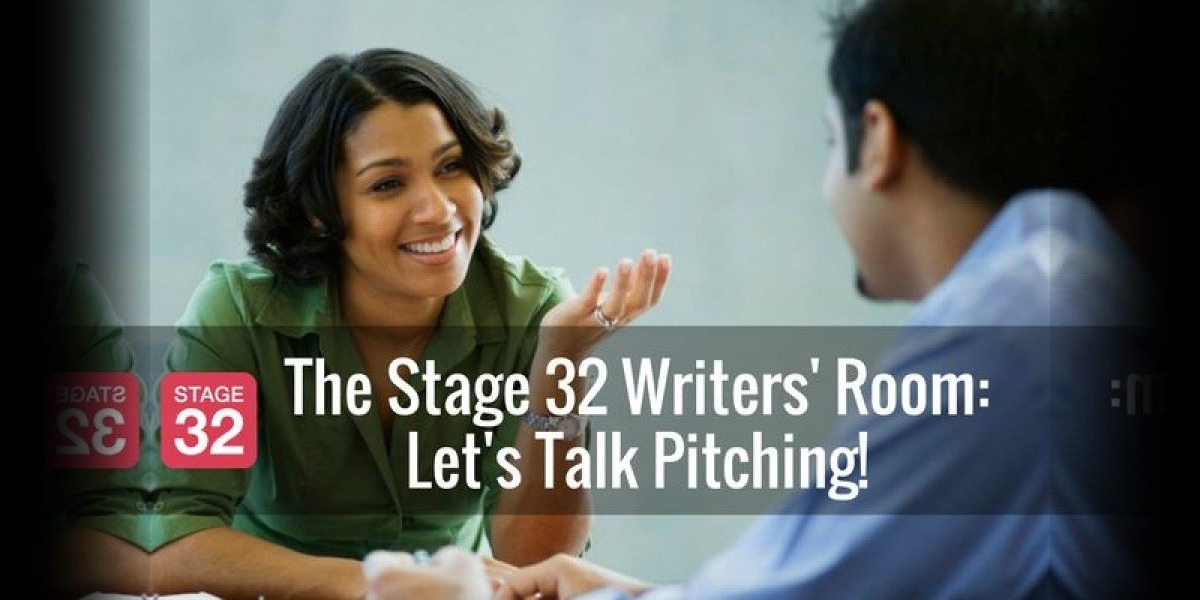 The Stage 32 Writers' Room: Let's Talk Pitching