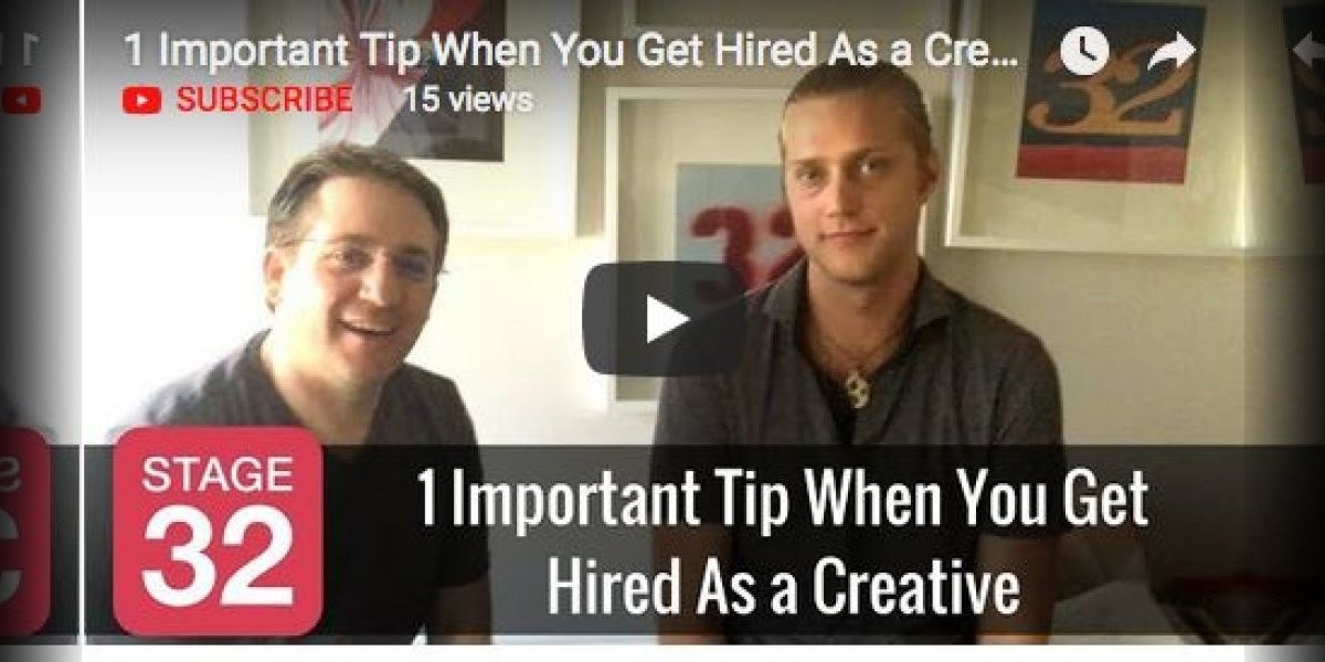 1 Important Tip When You Get Hired As a Creative
