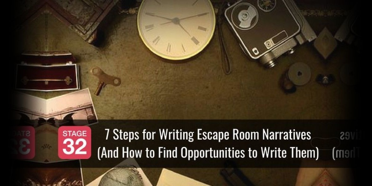 7 Steps for Writing Escape Room Narratives (And How to Find Opportunities to Write Them)