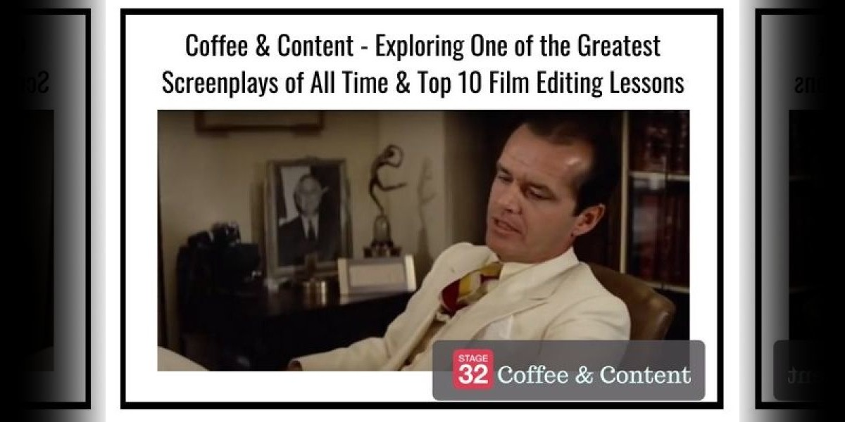 Coffee & Content - Exploring One of the Greatest Screenplays of All Time & Top 10 Film Editing Lessons