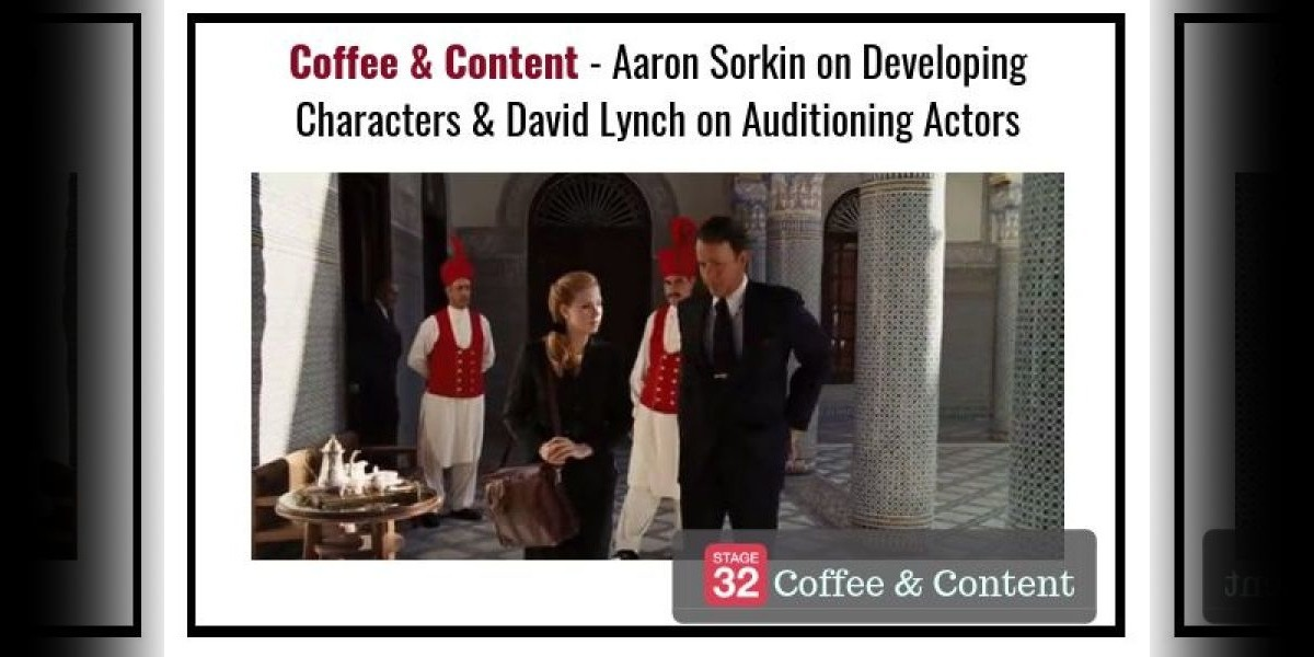 Coffee & Content - Aaron Sorkin on Developing Characters & David Lynch on Auditioning Actors (And a Bonus Video!)