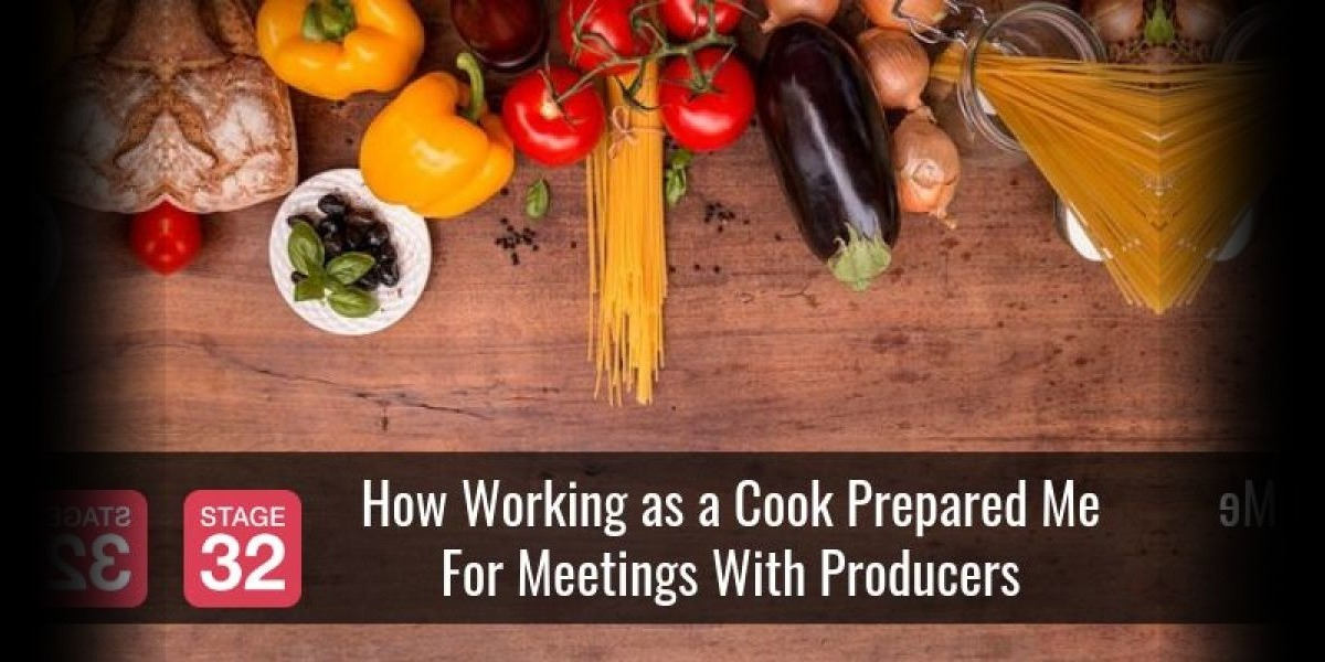 How Working as a Cook Prepared Me For Meetings With Producers
