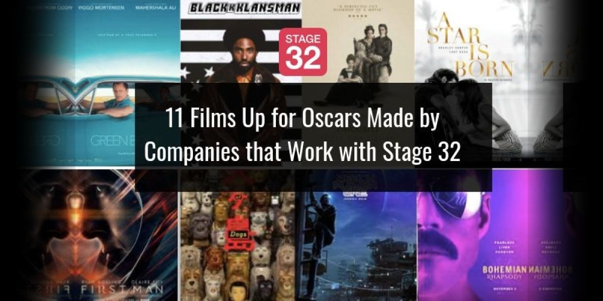 Monday Motivation: 12 Films Up for Oscars Made by Companies that Work with Stage 32