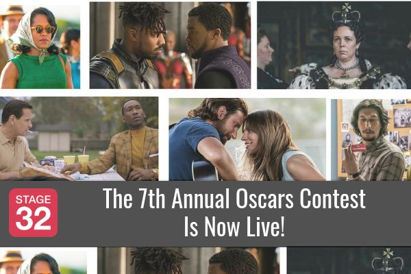 The 7th Annual Oscars Contest Is Now Live!