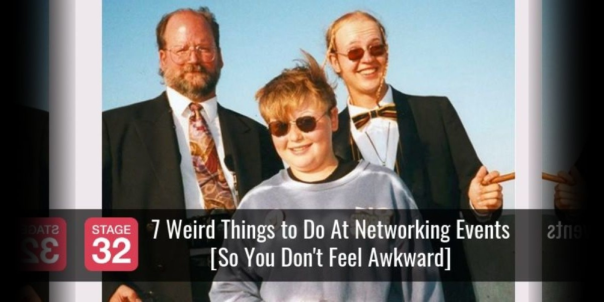 7 Weird Things to Do At Networking Events [So You Don't Feel Awkward]