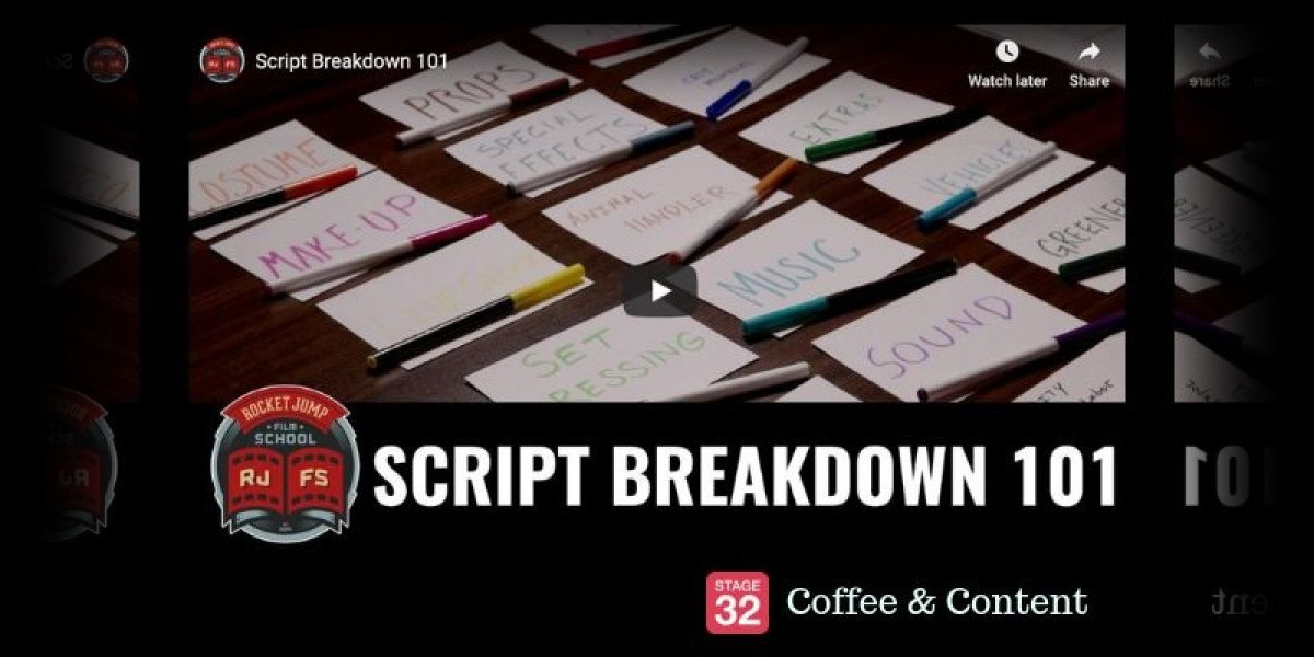 Coffee & Content -  Script Breakdown 101 & Filmmaker Richard Linklater on Patience