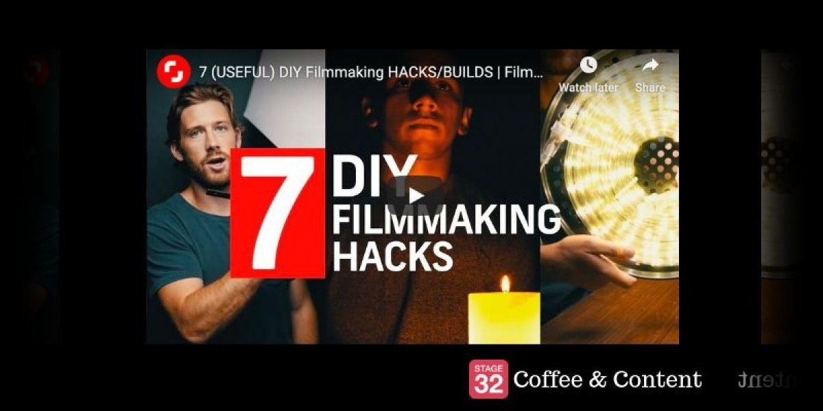 Coffee & Content - 7 (USEFUL) DIY Filmmaking HACKS/BUILDS & 5 Tips For Filming At NIGHT