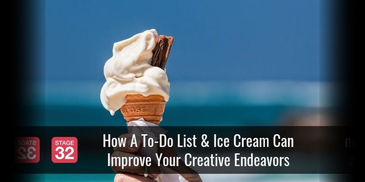 How A To-Do List & Ice Cream Can Improve Your Creative Endeavors