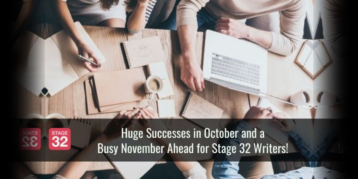 Huge Successes in October and a Busy November Ahead for Stage 32 Writers!