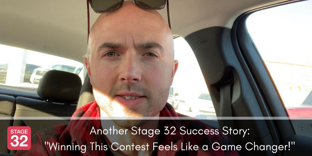 "Another Stage 32 Success Story:  ""Winning This Contest Feels Like a Game Changer!"""