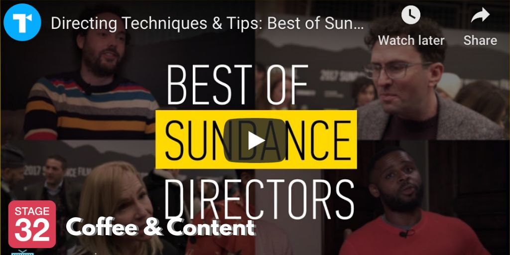 Coffee & Content -  Directing Tips from Sundance Directors & A Career Retrospective with Eddie Murphy