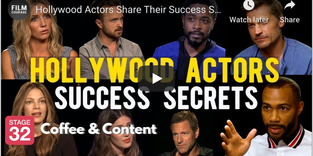 Coffee & Content - Hollywood Actors Share their Success Stories, plus How to Direct a Short Film