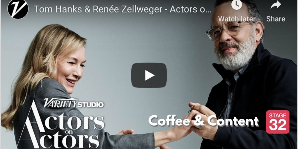 Coffee & Content - Studios vs. Streaming Platforms & Actors on Actors with Tom Hanks & Renée Zellweger