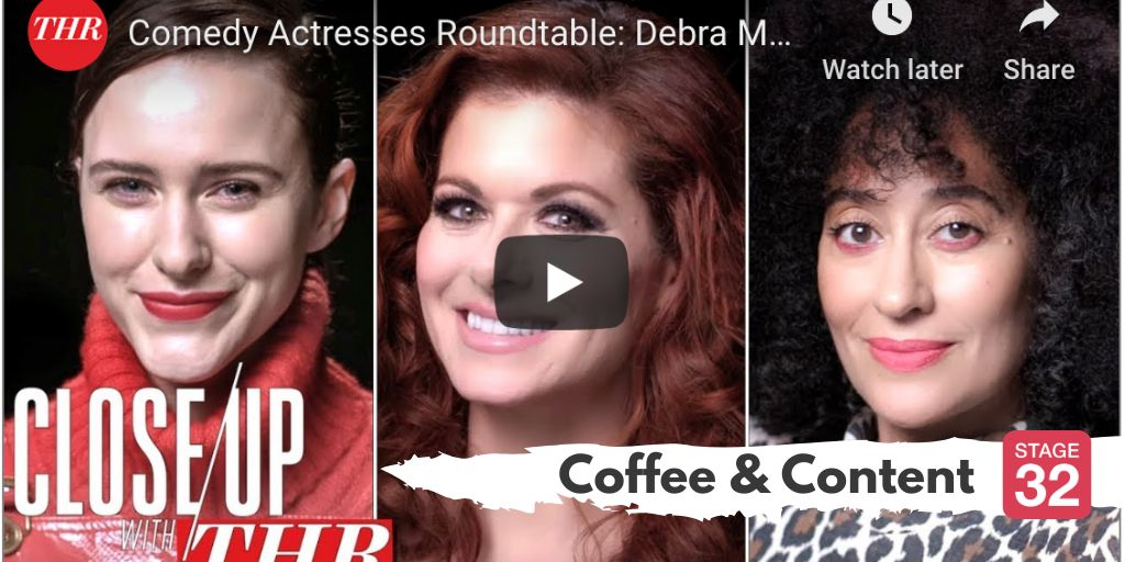 Coffee & Content - Comedy Actress Roundtable & The Art of Creativity with Taika Waititi