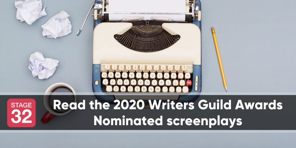 Read the 2020 Writers Guild Awards Nominated Screenplays