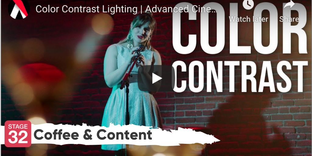 Coffee & Content - Color Contrast Lighting & Acting Advice from Lizzy Caplan