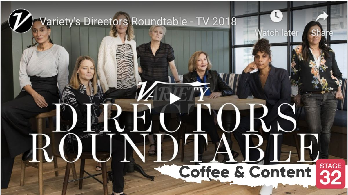 Coffee & Content - Female TV Directors Roundtable & The Female Film Revolution