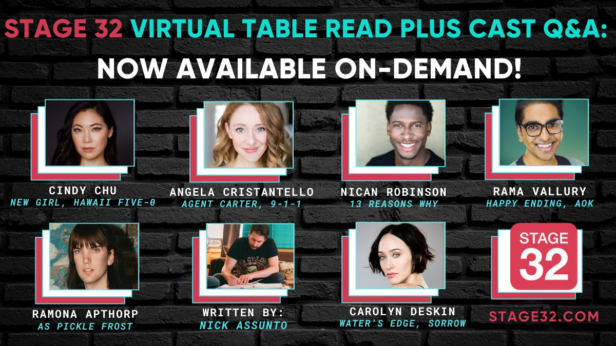 Stage 32 Virtual Table Read Plus Cast Q&A: Now Available On-Demand!