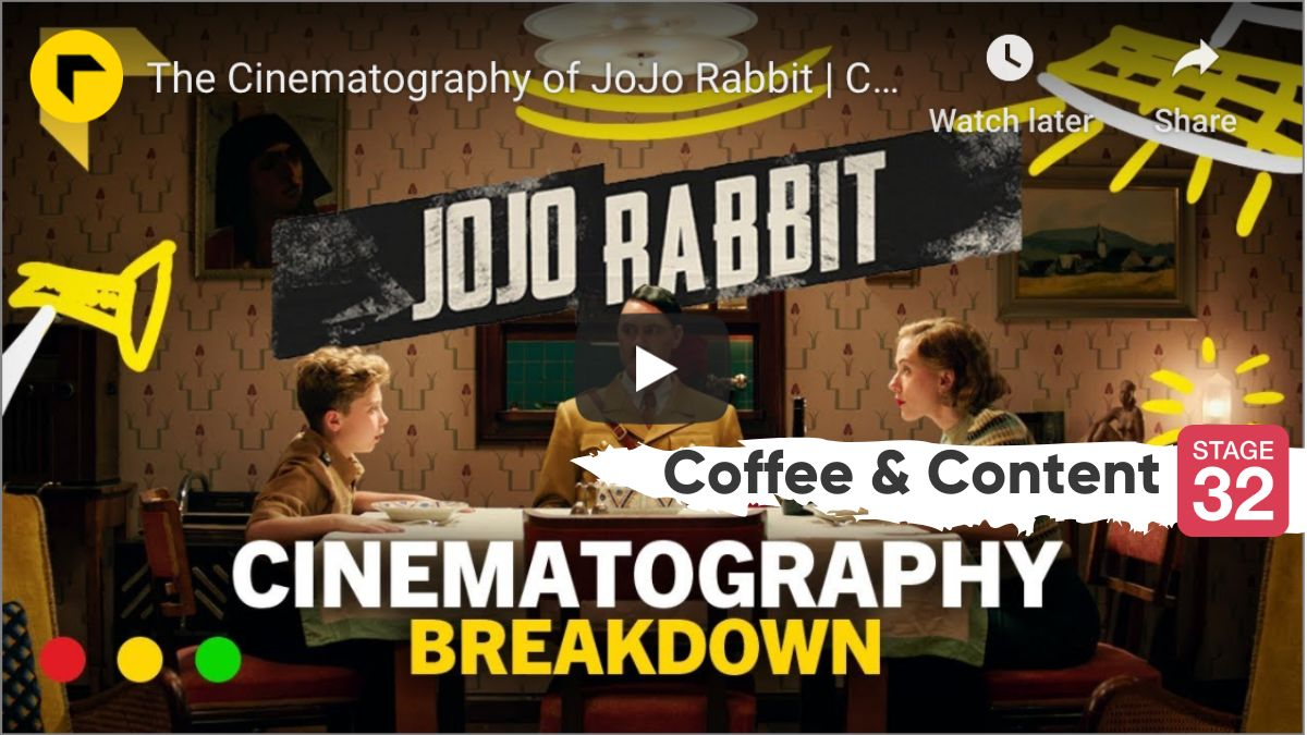 Coffee & Content - JoJo Rabbit Cinematography & Editing Empathy in Big Little Lies